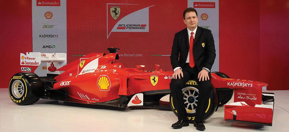 Υπεύθυνος σχεδιασμού της Ferrari στη F1