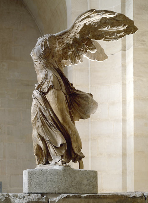 Winged Victory Of Samothrace Special exhibition tri...