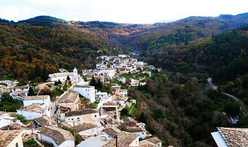 The village of mountainous Arcadia with an Aegean-type beauty