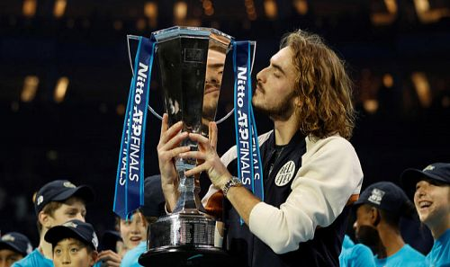Makes history at ATP Finals in London