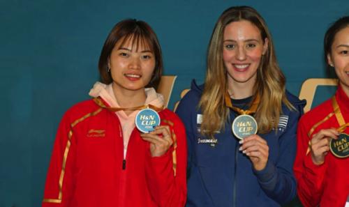 Χρυσό Μετάλλιο για την κορυφαία αθλήτρια