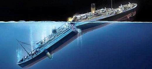 The Greek illustrator of the Titanic