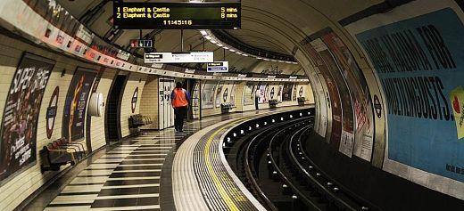 Greek Poems in London Underground