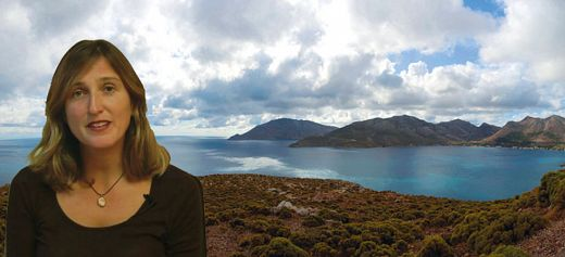 Writer found the meaning of life on the Greek island of Tilos