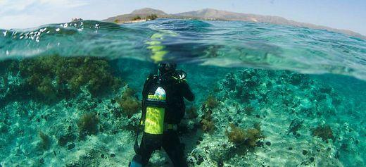 Greece in the Mediterranean's top 3 underwater destinations