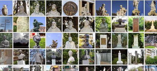 Τα γλυπτά των δρόμων της Αθήνας σε μια ιστοσελίδα