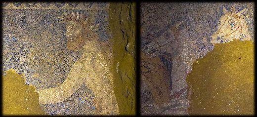 Amphipolis: Stunning floor mosaic revealed