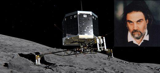 O Βαγγέλης Παπαθανασίου υπογράφει τη μουσική της αποστολής Rosetta