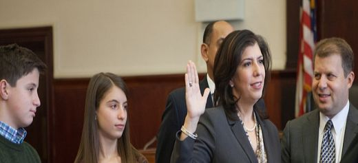 The first Greek American woman District Attorney in Nassau County