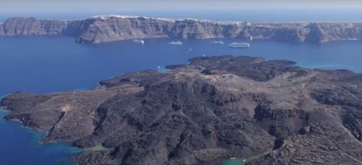 The secret of the Aegean sea's creation