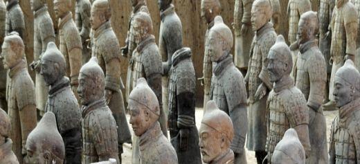 Η έμπνευση για τον Πήλινο Στρατό της Κίνας προήλθε από την αρχαία Ελλάδα