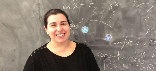 """The Greek female """"Einstein"""""""