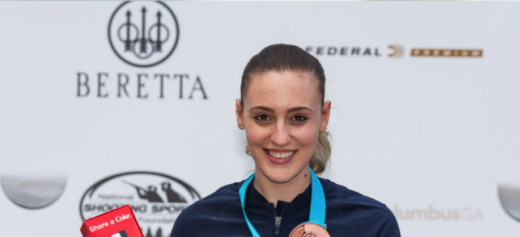 Anna Korakaki wins another medal