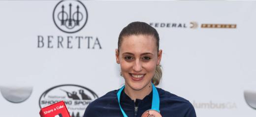 Anna Korakaki wins another medal