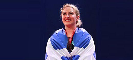 Eleni Konstantinidi became European Champion
