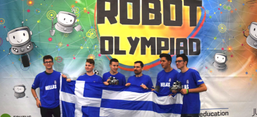 Greece stands out in the World Robot Olympiad 2019