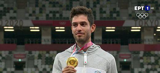 Ο Μίλτος Τεντόγλου κατέκτησε το Χρυσό Μετάλλιο στο Τόκιο