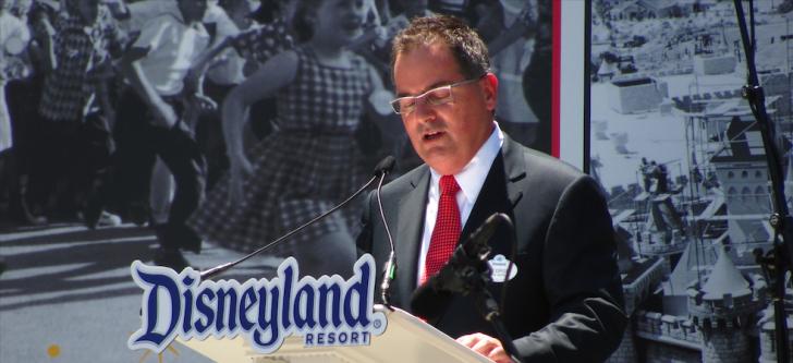 The Greek President of Walt Disney World Resort