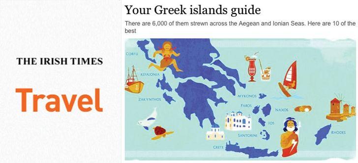 Οι Ιρλανδοί διαφημίζουν τα ελληνικά νησιά
