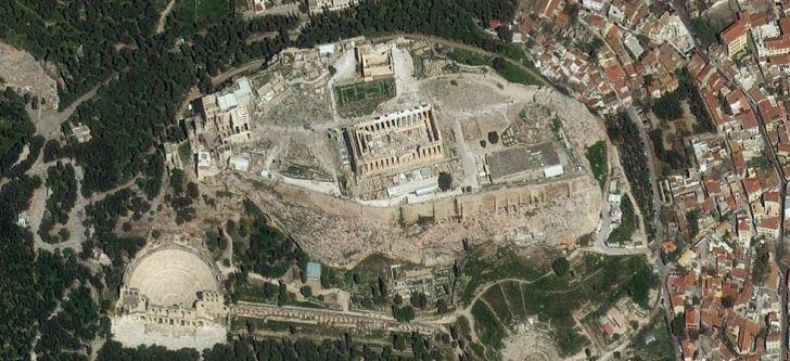 Χρησιμοποιώντας δορυφόρους για τη μελέτη της Αρχαίας Ελλάδας