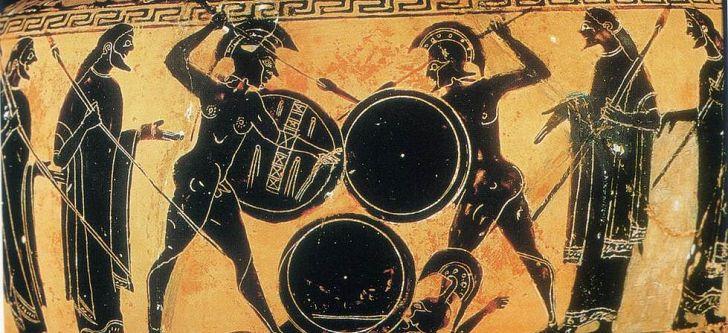 Βρετανός ζωντανεύει τις αναπαραστάσεις αρχαιοελληνικών αμφορέων (ΒΙΝΤΕΟ)