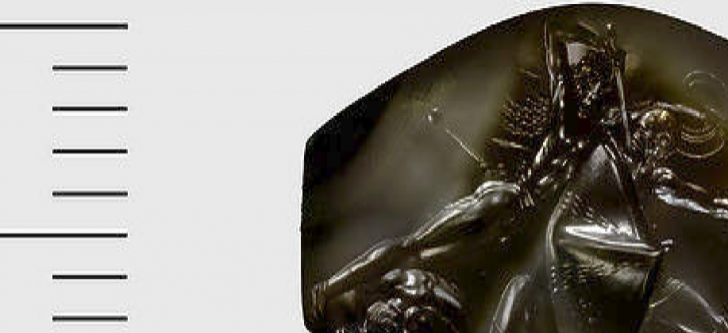 A Grecian artifact evokes tales from the 'Iliad' and 'Odyssey'