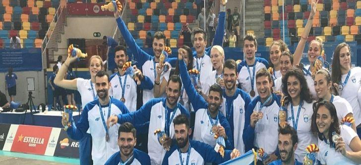 6η στους Μεσογειακούς Αγώνες 2018