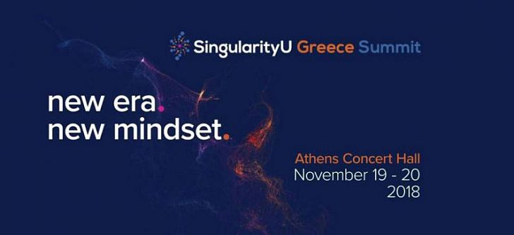 The world community of Singularity University comes to Greece