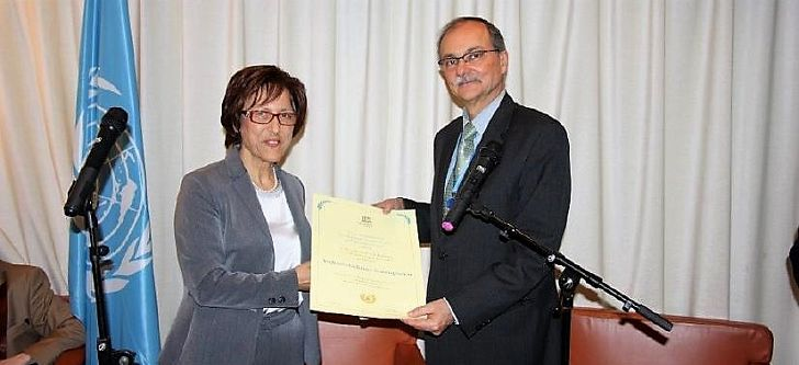 Dr Androula Nasiopoulou wins UNESCO award for nanoscience
