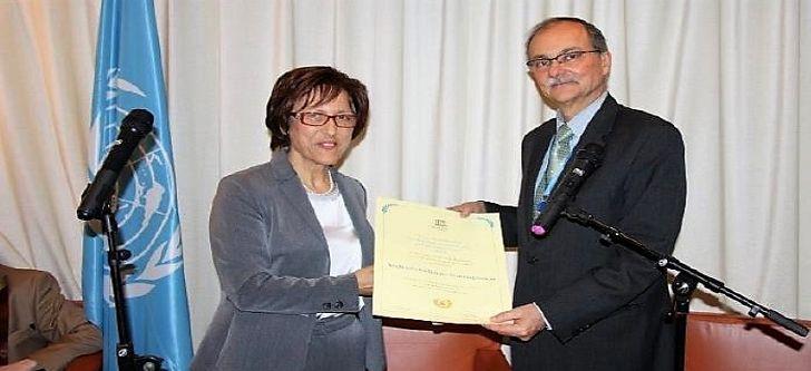 Μετάλλιο της UNESCO στην ερευνήτρια του «Δημόκριτου» Δρ. Ανδρούλα Νασιοπούλου