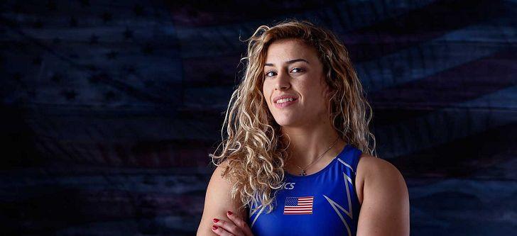 Η πρώτη χρυσή ολυμπιονίκης των ΗΠΑ στο άθλημα της πάλης