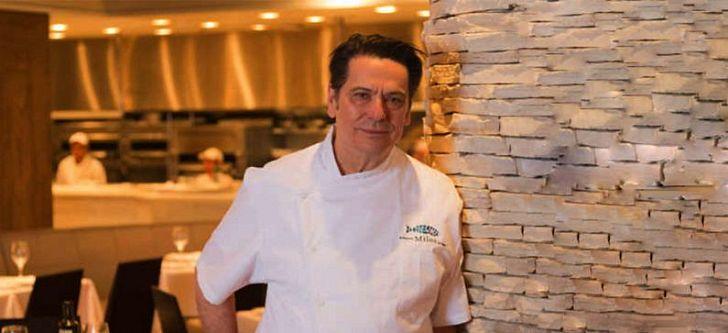 "The Greek behind the famous restaurants ""Milos"""