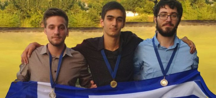 Greek students won 3 medals in the IMC