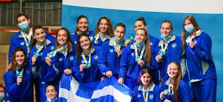 «Ασημένια» η Εθνική Oμάδα Πόλο νέων Γυναικών στο Παγκόσμιο Πρωτάθλημα!
