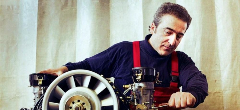 A Pontian master in the art of car engineering