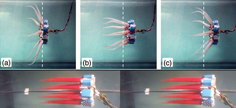 Έλληνες επιστήμονες κατασκεύασαν χταπόδι ρομπότ
