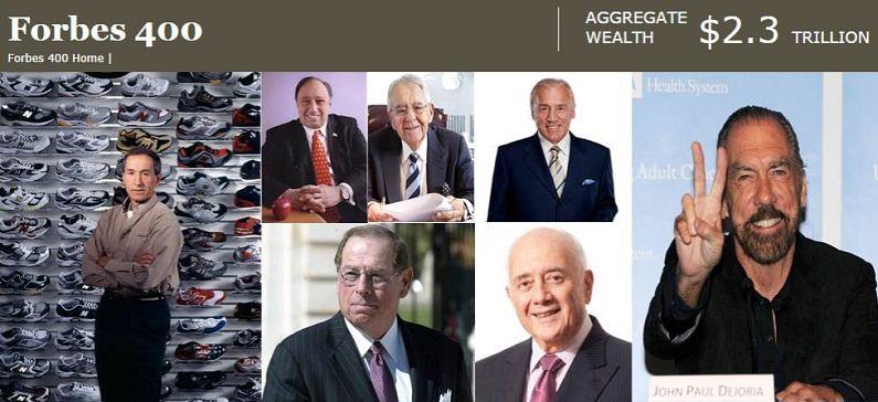 Forbes: Επτά Έλληνες στη λίστα με τους πλουσιότερους της Αμερικής