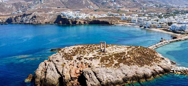 TIME magazine suggests Naxos instead of Santorini and Mykonos