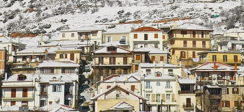 Top 5 winter destinations in Greece