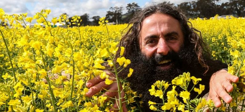 He makes gardening a trend in Australia