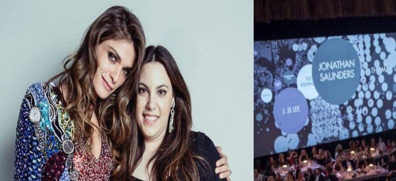 Greek designer awarded at the British Fashion Awards