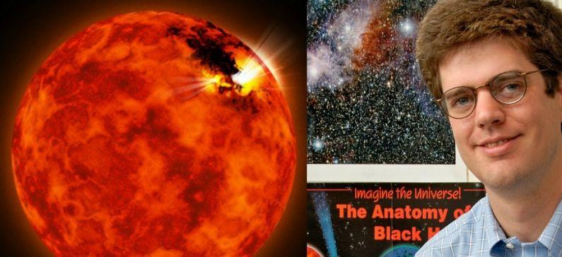 Greek detects Jupiter-like storm on small, cool star