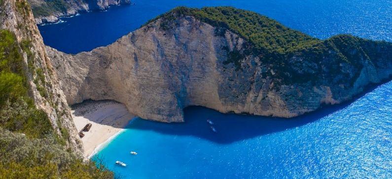 Ελληνική παραλία στην κορυφή της Ευρώπης