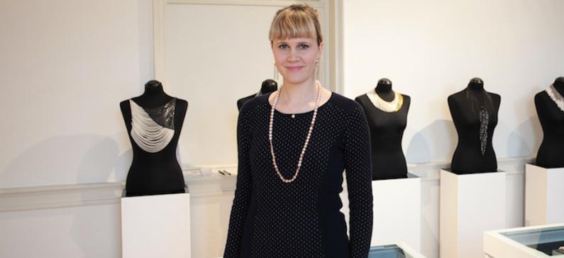 Head Designer for the Japanese jewellery company Tasaki