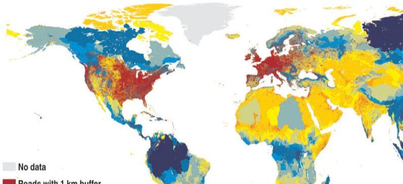 Ελληνίδα στην ομάδα που δημιούργησε παγκόσμιο χάρτη των περιοχών χωρίς δρόμους