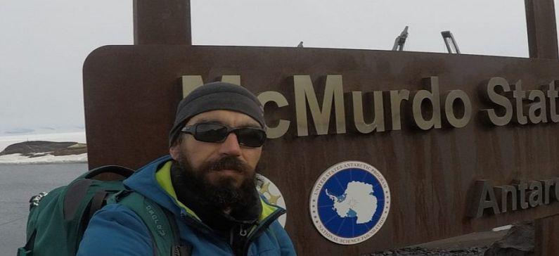 Ένας Έλληνας γεωλόγος στην Ανταρκτική