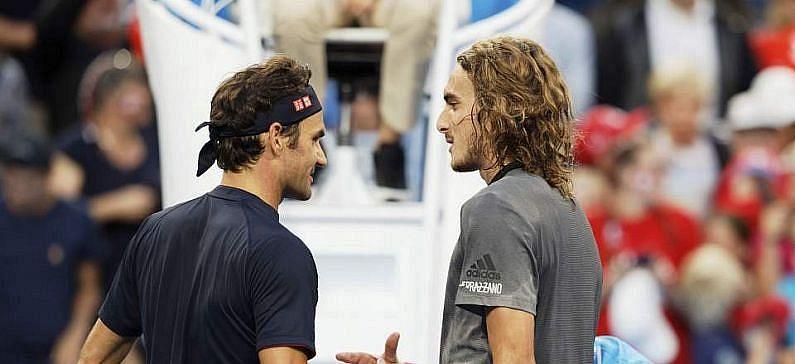 Tsitsipas, Sakkari win mixed doubles against Federer, Bencic