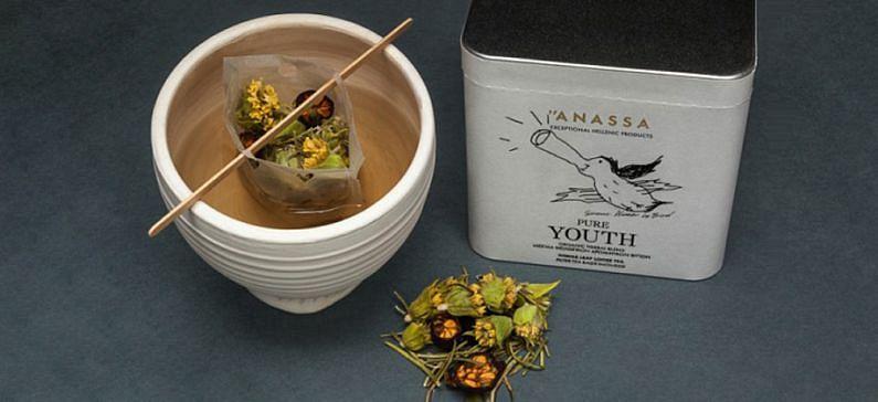 The premium tea which praises the Greek land