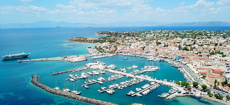 The island-treasure of Argo-Saronic gulf