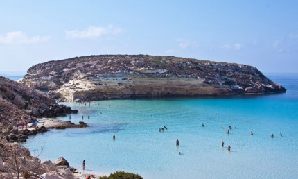 7. Rabbit Beach, Lampedusa, Italy